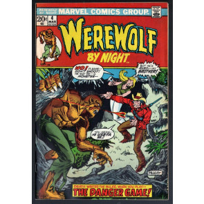 Werewolf by Night (1972) #4 VG/FN (5.0) Mike Ploog cover and art
