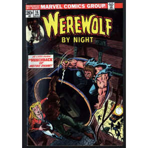 Werewolf by Night (1972) #16 FN (6.0) Mike Ploog cover and art
