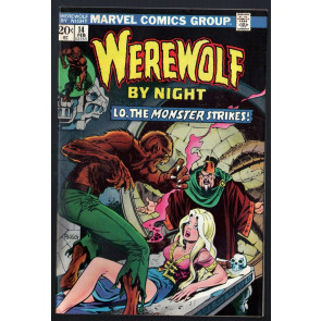 Werewolf by Night (1972) #14 FN+ (6.5) Mike Ploog cover and art