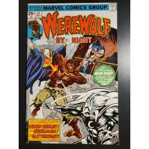 Werewolf By Night #37 (1976) VF (8.0) High grade 3rd appearance of Moon Knight |