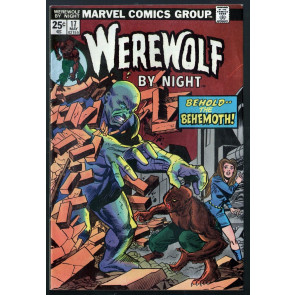 Werewolf by Night (1972) #17 FN (6.0) Don Perlin art