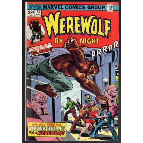 Werewolf by Night (1972) #23 FN- (5.5) Don Perlin art