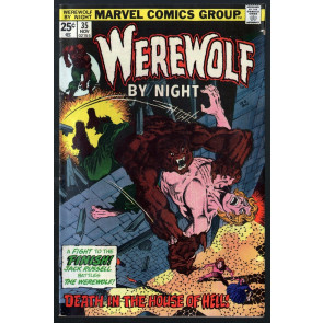 Werewolf by Night (1972) #35 FN (6.0) Don Perlin art Starlin Wrightson cover
