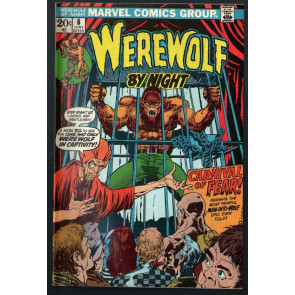 Werewolf by Night (1972) #6 VG/FN (5.0) Mike Ploog cover and art
