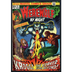 Werewolf by Night (1972) #8 FN (6.0) Mike Ploog cover and art