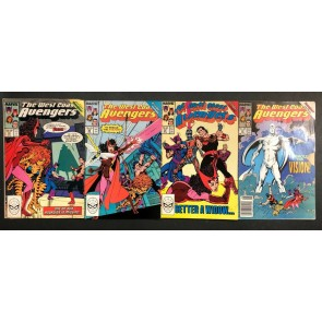 West Coast Avengers (1985) #42 43 44 45 VG/FN complete Vision Quest storyline