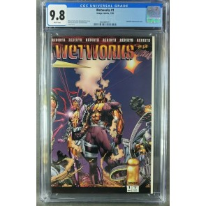 Wetworks #1 (1994) CGC 9.8 WP Whilce Portacio art 1st app Wetworks (3824801017) 