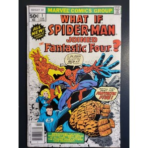 What If #1 1977 (1st Series) VG/FN 5.0 What if Spider-Man Joined Fantastic Four|