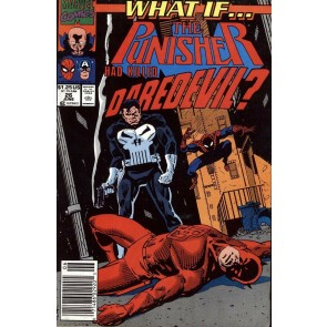 What If...? (1989) #26 VF Punisher Had Killed Daredevil