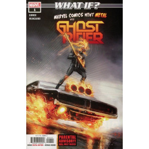 What If? Ghost Rider #1 - What If Marvel Comics Went Metal? (2018) #1 VF/NM