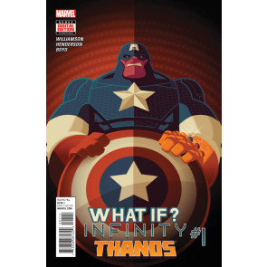WHAT IF INFINITY - THANOS (2015) #1 VF/NM ONE-SHOT