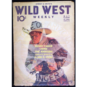 WILD WEST WEEKLY VOLUME 128 #1 PULP 1939