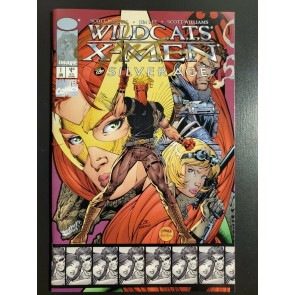 WILDCATS X-MEN THE SILVER AGE #1 VF+ D.FORCES SIGNED BY JIM LEE W COA #79/2,500 