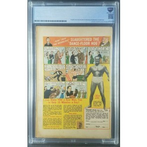 Wings #91 (1948) Certified CBCS NOT CGC 2.0 CLASSIC BONDAGE COVER |
