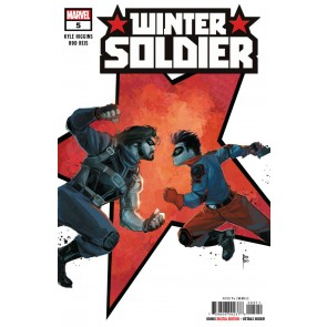 Winter Solider (2018) #5 VF/NM Rod Reis Cover