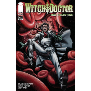 WITCH DOCTOR: MAL PRACTICE #4 OF 6 NM IMAGE COMICS