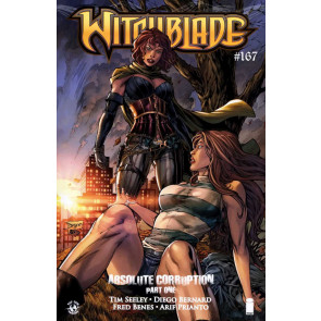 WITCHBLADE #167 VF/NM IMAGE COMICS COVER B