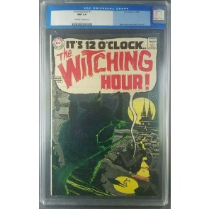 Witching Hour #1 CGC 9.4 NM Off White DC Horror 1st Issue 0015172017 |