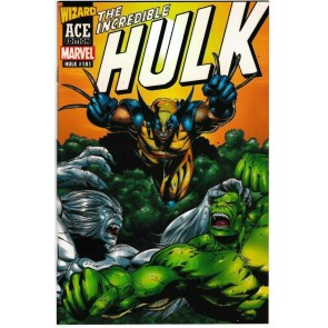 Wizard Ace Edition (2001) #181 VF/NM-NM Wolverine Incredible Hulk Acetate Cover