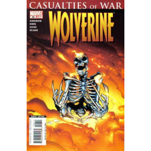 WOLVERINE (2007) #48 NM HUMBERTO RAMOS CASUALTIES OF WAR