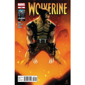 "WOLVERINE (2010) #'s 305, 306, 307, 308 NEAR COMPLETE ""ROT"" SET"