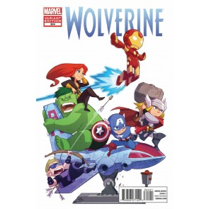 Wolverine (2010) #304 VF/NM-NM Art Appreciation Variant Cover