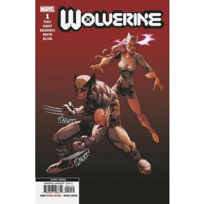 Wolverine (2020) #1 NM (9.4) Adam Kubert 2nd print variant