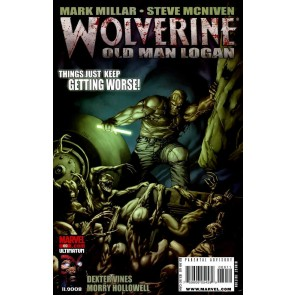 "Wolverine (2003) #69 VF/NM Mark Millar Steve McNiven ""Old Man Logan"" Part 4"