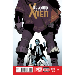 WOLVERINE AND THE X-MEN (2014) #5 VF/NM MARVEL NOW!