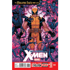 WOLVERINE AND THE X-MEN #32 NM