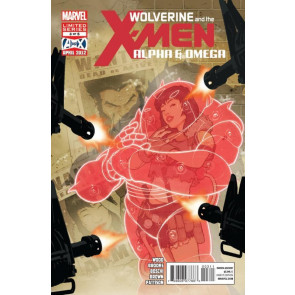 WOLVERINE AND THE X-MEN: ALPHA & OMEGA #3 OF 5 NM