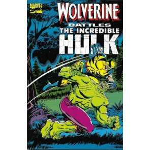 Wolverine Battles The Incredible Hulk (1992) VF/NM Herb Trimpe