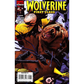 WOLVERINE FIRST CLASS #8 VF/NM