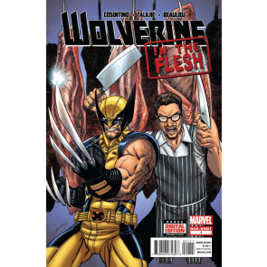 WOLVERINE: IN THE FLESH #1 VF/NM ONE-SHOT