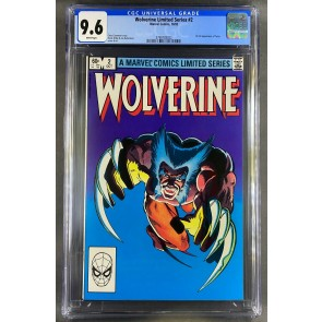 Wolverine Limited Series (1982) #2 CGC 9.6 Frank Miller Cover (3798783022)