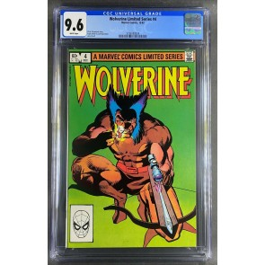 Wolverine Limited Series (1982) #4 CGC 9.6 Frank Miller Cover (3798783024)