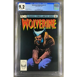 Wolverine Limited Series (1982) #3 CGC 9.2 Frank Miller Cover (3798783023)