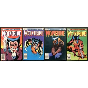 Wolverine Limited Series (1982) #1 2 3 4 VF(8.0) complete set Frank Miller art