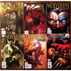 Wolverine Origins (2006) 1-15 full run with variants #10 1st app Daken lot of 20