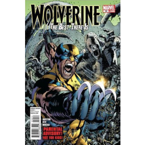 WOLVERINE THE BEST THERE IS #10 NM