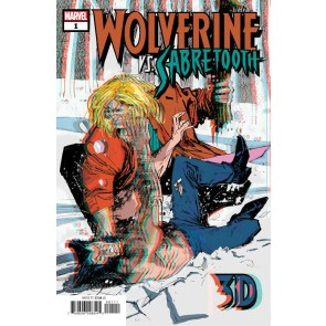 Wolverine vs. Sabretooth 3D (2020) Reprint Wolverine #10 Sealed 3D Glasses