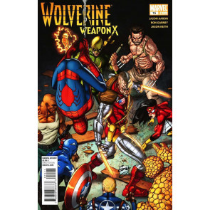 WOLVERINE WEAPON X #15 TOMORROW DIES TODAY DEATHLOK SPIDER-MAN