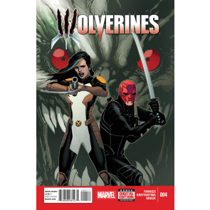 WOLVERINES (2015) #4 VF/NM MARVEL NOW!