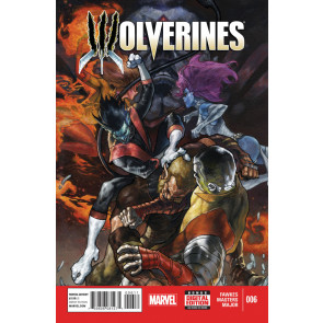 WOLVERINES (2015) #6 VF/NM MARVEL NOW!