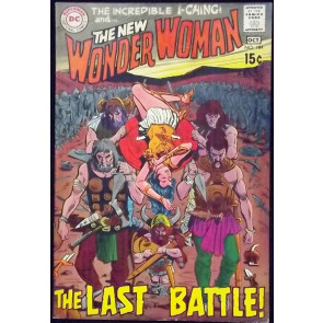 WONDER WOMAN (1942) #184 VG/FN NEW LOOK
