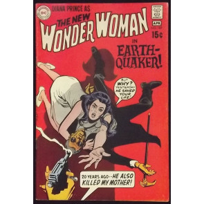 WONDER WOMAN (1942) #187 FN- NEW LOOK