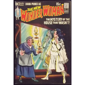 WONDER WOMAN (1942) #195 FN- NEW LOOK