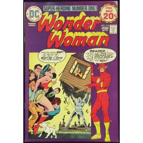 WONDER WOMAN (1942) #213 FN+ FLASH COVER