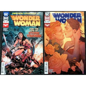 Wonder Woman (2016) #41 NM- regular & variant cover set Amazons Attacked part 1