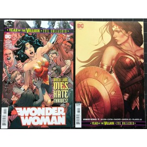 Wonder Woman (2016) #79 VF/NM regular & variant cover set